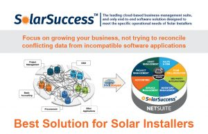 SolarSuccess is the Best Solution for Solar Installers