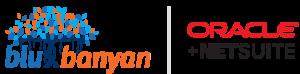 Blu Banyan and Oracle NetSuite Logos