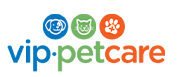 V.I.P. pet care logo
