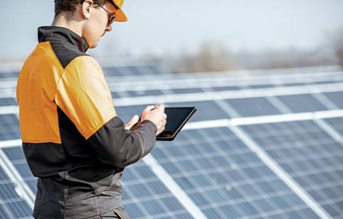 Solar Installer has real-time visability for all company operations