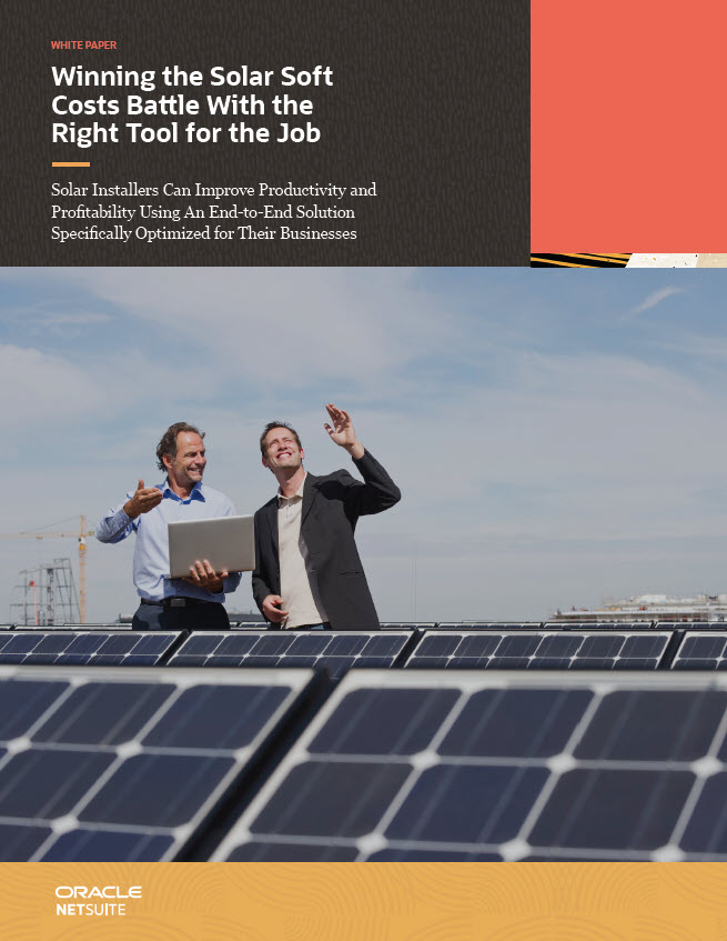 SolarSuccess White Paper: Winning the Soft Costs Battle With the Right Tool for the Job