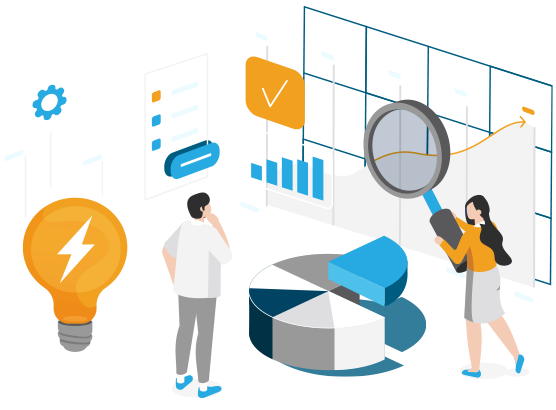 Illustration: Assess KPIs and metrics in real-time