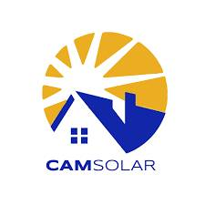CAM Solar logo - Save money, Save the planet, Be independent