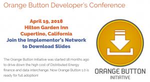 Orange Button Initiative Developers Conference 2018